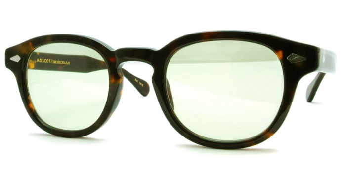 MOSCOT  /  LEMTOSH Sun  / TORTOISE - LIGHT GREEN  /  ¥30,000 + tax