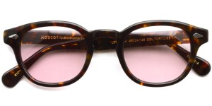 MOSCOT / LEMTOSH Sun / TORTOISE - LIGHT RED PURPLE / ¥30,000 + tax