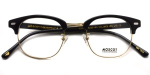 MOSCOT / YUKEL / BLACK - GOLD / ¥30,000 + tax