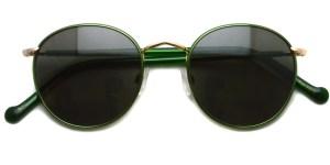 MOSCOT / ZEV Sun / Emerald - Gold - G15 / ¥31,000 + tax