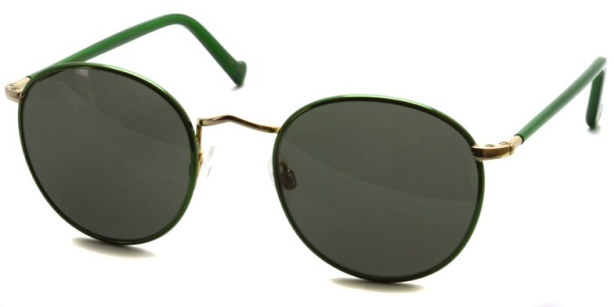 MOSCOT / ZEV Sun / Emerald - Gold - G15 / ¥31,000 + tax