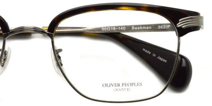 OLIVER PEOPLES /  BEEKMAN  /  362/P   /  ¥33,000 + tax