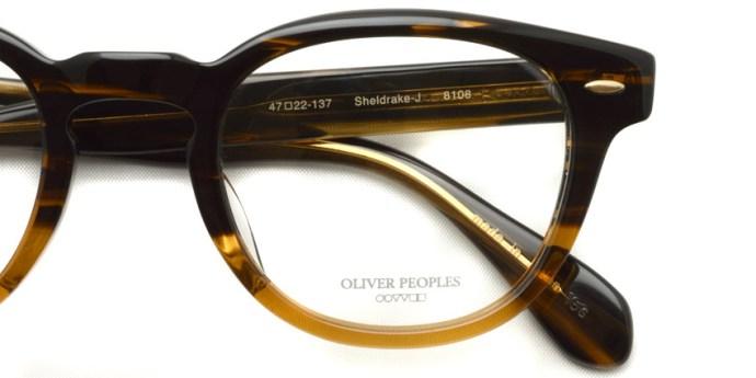 OLIVER PEOPLES / SHELDRAKE-J /  8108   /  ¥29,000 + tax