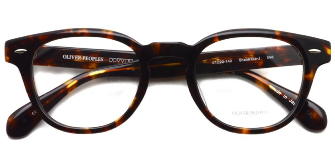 OLIVER PEOPLES / SHELDRAKE-J / DM2 / ¥29,000 + tax