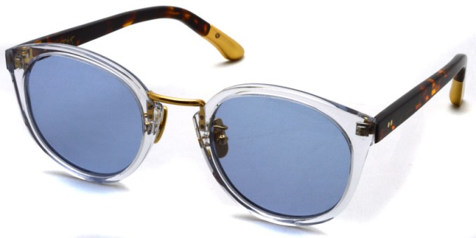 A.D.S.R. / DARRYL13 / Clear & Havana Brown - Gold / ¥17,000 + tax