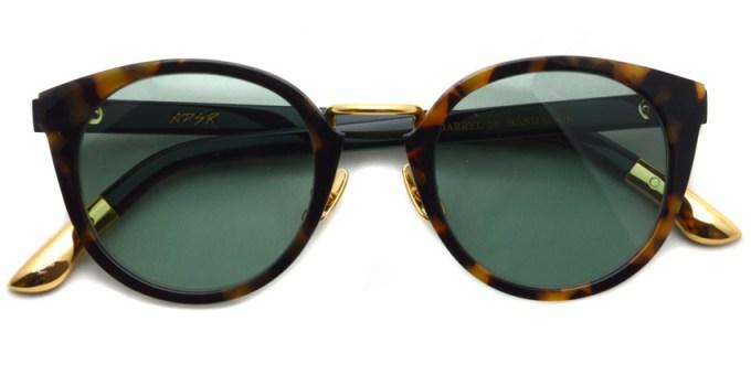 A.D.S.R. / DARRYL18 / HAVANA YELLOW & BLACK - GOLD / ¥17,000 + tax