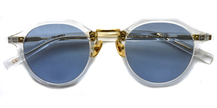 A.D.S.R. / SATCHMO03 (2016.2nd) / Clear - Gold- Light Blue / ¥19,000 + tax