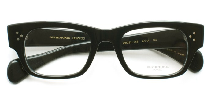 OLIVER PEOPLES /  ARI-A  /  BK   /  ¥25,000 + tax