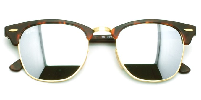 """RayBan  /  RB3016 """"CLUBMASTER"""" / 1145/30  / ¥24,000 + tax"""