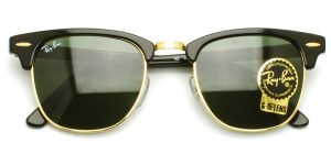 "RayBan / RB3016 ""CLUBMASTER"" / W0365 / ¥19,000 + tax"