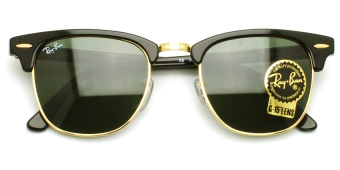 "RayBan / RB3016 ""CLUBMASTER"" / W0365 / ¥22,000 + tax"