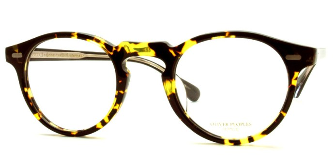 OLIVER PEOPLES / GREGORY PECK -J / DTBK - BK / ¥30,000 + tax