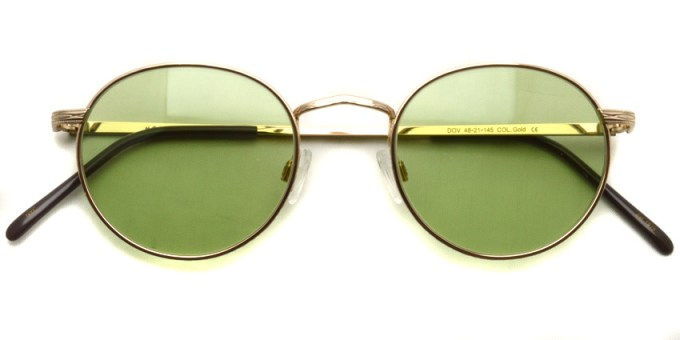 MOSCOT / DOV Sun / Gold - Light Green / ¥31,000 + tax