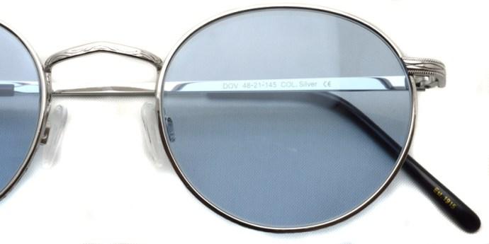 MOSCOT / DOV Sun / Silver - Blue / ¥31,000 + tax