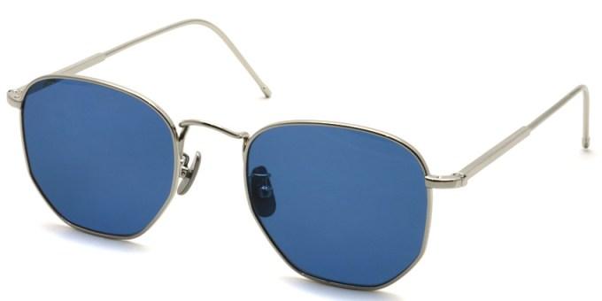 A.D.S.R. / JEFF04 / Silver - Blue Lenses /  ¥19,000 + tax