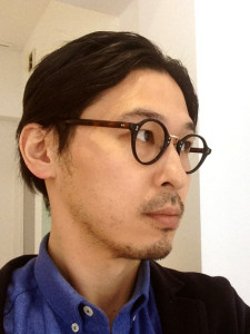 wearing OLIVER PEOPLES / OP-1955 / BK-DM