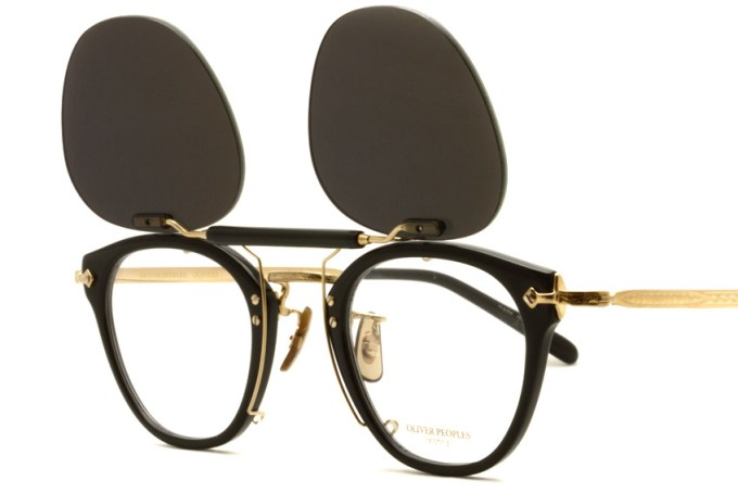 OLIVER PEOPLES /  507C Clip  /  G  /  ¥15,000 + tax
