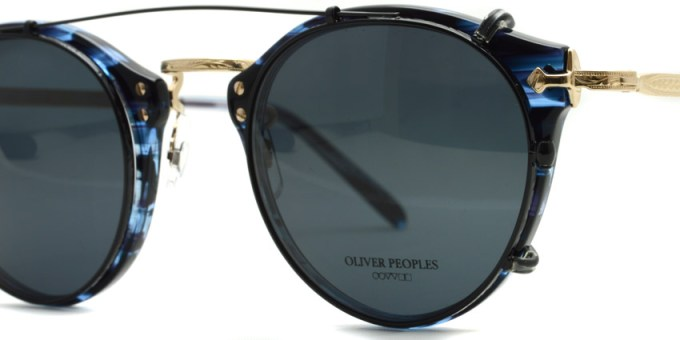 OLIVER PEOPLES / 505 Clip / BK-GRY / ¥12,000 + tax
