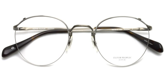 OLIVER PEOPLES / FRYMAN  /  P  /  ¥43,000 + tax