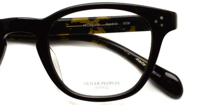 OLIVER PEOPLES /  KENDRICK  /  GCM   /  ¥30,000 + tax