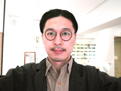 wearing OLIVER PEOPLES / MP-2