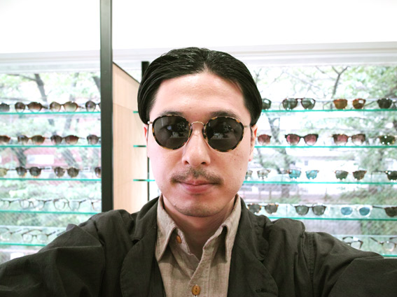 wearing OLIVER PEOPLES / MP-2 Sun / DTB - GRY