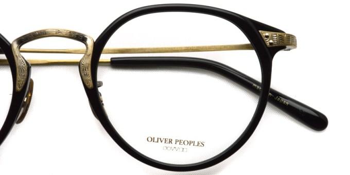 OLIVER PEOPLES /  OP-27T  /  BK/AG   /  ¥35,000 + tax