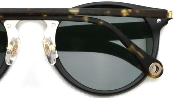 RAEN / NERA / Matte Black + Matte Brindle Tortoise & J.GOLD / ¥22,000 + tax