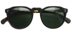 RAEN / REMMY 49 / Matte Black - Matte Brindle Tortoise (Polar) / ¥20,000 + tax
