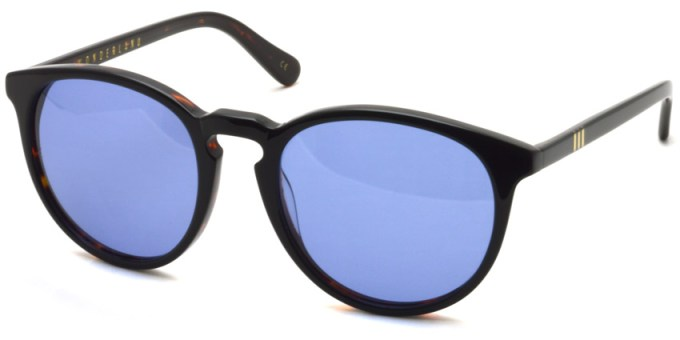 WONDERLAND / BEAUMONT /  DK Tort / BK Laminate - Blue  / ¥21,000 +tax