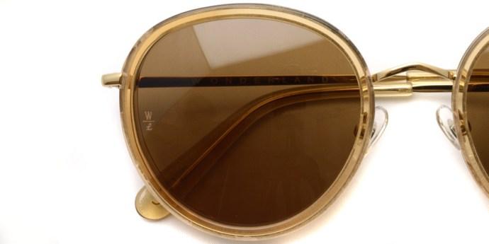 WONDERLAND / MONTCLAIR / Clear Beach Glass - Bronze  / ¥26,000 +tax