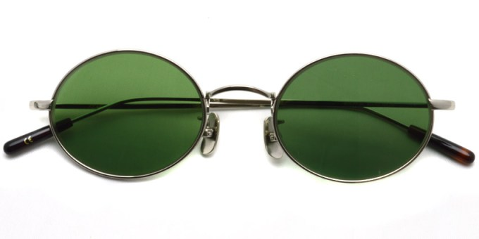 A.D.S.R. / WOLFF02(c) / Silver - Green Lenses / ¥19,000 + tax