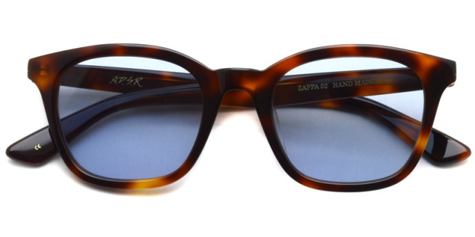 A.D.S.R. / ZAPPA02(b) / Havana Brown - Llght Blue Lenses / ¥16,000 + tax