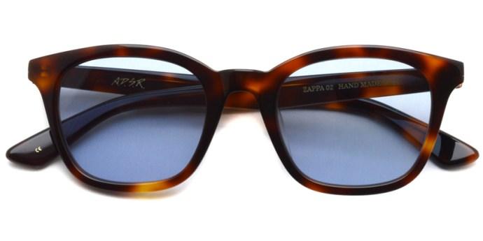 A.D.S.R. / ZAPPA02(b) / Havana Brown - Llght Blue Lenses / ¥16,000 + tax