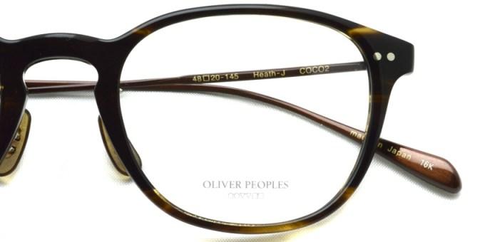 OLIVER PEOPLES / HEATH-J / COCO2 / ¥33,000 + tax