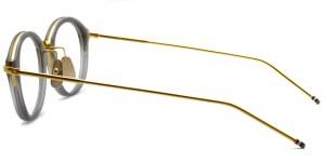 Thom Browne / TB-011 / Satin Crystal Grey - 18K Gold / ¥65,000+tax