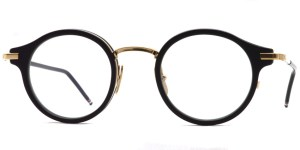 Thom Browne / TB-807 / Matte Black - 12K Gold / ¥65,000+tax