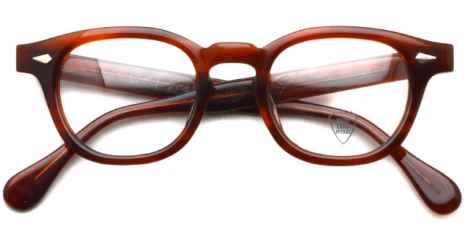 JULIUS TART OPTICAL / AR / AMBER / ¥37,000+tax