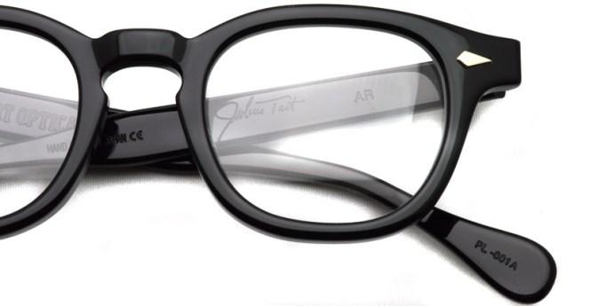 JULIUS TART OPTICAL / AR / Black / ¥37,000+tax