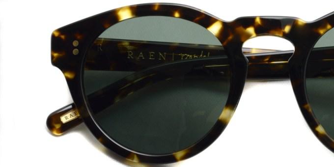 RAEN / PARKHURST / Brindle Tortoise / ¥16,000 + tax