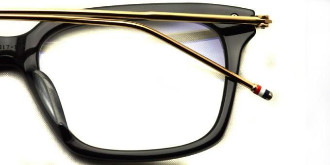 Thom Browne / TB-0701 / Black - 12K Gold / ¥49,000+tax