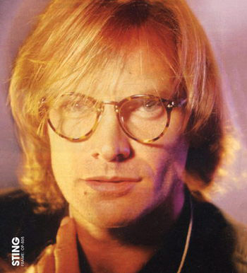 STING wearing OLIVER PEOPLES/OP-1955