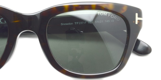 TOMFORD / TF237F Snowdon / 52N / ¥45,000 + tax