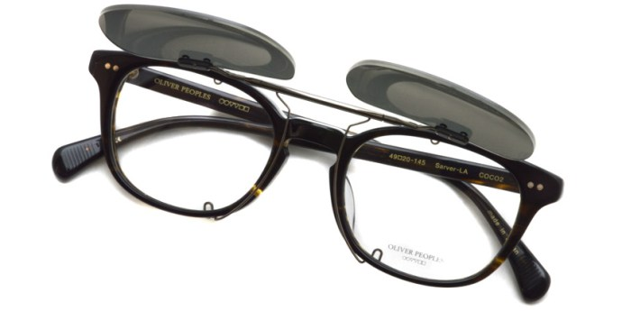 OLIVER PEOPLES / ARI Clip / GUN - GRY12 (Polar) / ¥14,000 + tax