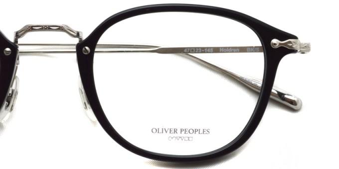 OLIVER PEOPLES / Holdren / BK/S / ¥38,000 + tax