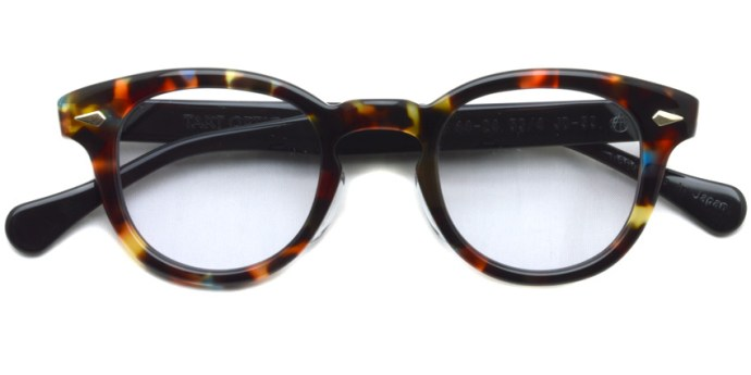 TART OPTICAL ARNEL / JD-55 / 005 BLUE AMBER BLACK / ¥36,000 + tax