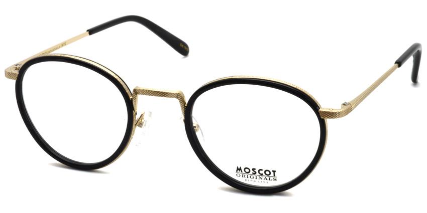 MOSCOT / BUPKES / Black / Gold / ¥28,000 + tax