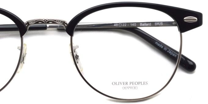 OLIVER PEOPLES / BALLARD / BK/S / ¥39,000 + tax