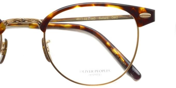 OLIVER PEOPLES / BALLARD / DM2 / ¥39,000 + tax