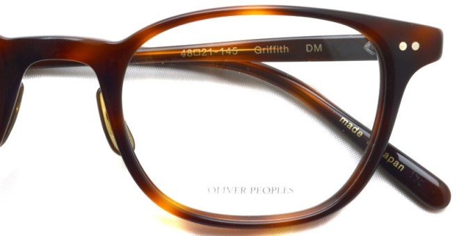 OLIVER PEOPLES / GRIFFITH / DM / ¥35,000